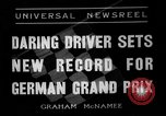 Image of German Grand Prix Nuremberg Germany, 1936, second 1 stock footage video 65675051395