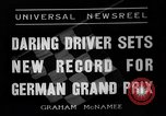 Image of German Grand Prix Nuremberg Germany, 1936, second 4 stock footage video 65675051395