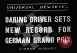 Image of German Grand Prix Nuremberg Germany, 1936, second 7 stock footage video 65675051395