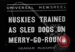 Image of Huskies Wonalancet New Hampshire USA, 1936, second 6 stock footage video 65675051396