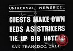 Image of hotel staff San Francisco California USA, 1937, second 7 stock footage video 65675051401