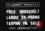 Image of President Roosevelt Port Arkansas Texas USA, 1937, second 1 stock footage video 65675051402