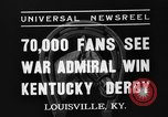 Image of Kentucky Derby Louisville Kentucky USA, 1937, second 6 stock footage video 65675051404