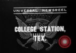 Image of President Roosevelt College Station Texas USA, 1937, second 3 stock footage video 65675051409