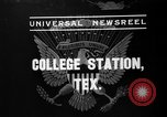 Image of President Roosevelt College Station Texas USA, 1937, second 4 stock footage video 65675051409