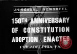 Image of 150th anniversary Philadelphia Pennsylvania USA, 1937, second 1 stock footage video 65675051410