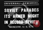 Image of Joseph Stalin Moscow Russia Soviet Union, 1937, second 2 stock footage video 65675051415