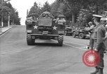 Image of American half tracks Normandy France, 1944, second 7 stock footage video 65675051423