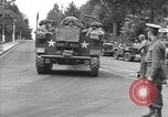 Image of American half tracks Normandy France, 1944, second 8 stock footage video 65675051423
