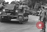 Image of American half tracks Normandy France, 1944, second 11 stock footage video 65675051423