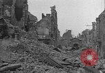 Image of damaged buildings Cherbourg Normandy France, 1944, second 2 stock footage video 65675051434