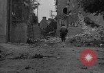 Image of damaged buildings Cherbourg Normandy France, 1944, second 11 stock footage video 65675051434