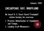 Image of United States Coast Guard Chesapeake Bay Maryland USA, 1944, second 8 stock footage video 65675051446