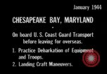 Image of United States Coast Guard Chesapeake Bay Maryland USA, 1944, second 10 stock footage video 65675051446