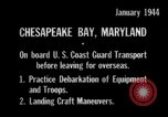 Image of United States Coast Guard Chesapeake Bay Maryland USA, 1944, second 12 stock footage video 65675051446