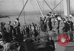 Image of Troop ship arrives in England United Kingdom, 1944, second 11 stock footage video 65675051448