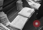 Image of D-Day headlines in New York New York City USA, 1944, second 5 stock footage video 65675051457