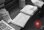 Image of D-Day headlines in New York New York City USA, 1944, second 6 stock footage video 65675051457