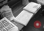 Image of D-Day headlines in New York New York City USA, 1944, second 7 stock footage video 65675051457
