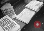 Image of D-Day headlines in New York New York City USA, 1944, second 8 stock footage video 65675051457
