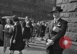 Image of Allied invasion news New York City USA, 1944, second 10 stock footage video 65675051458