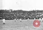 Image of soccer game Paris France, 1919, second 2 stock footage video 65675051496