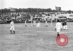 Image of soccer game Paris France, 1919, second 9 stock footage video 65675051496