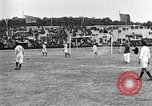 Image of soccer game Paris France, 1919, second 10 stock footage video 65675051496