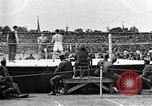 Image of boxing match Paris France, 1919, second 5 stock footage video 65675051497