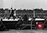 Image of boxing match Paris France, 1919, second 9 stock footage video 65675051497