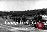 Image of United States soldiers Camp Ord California USA, 1936, second 2 stock footage video 65675051511