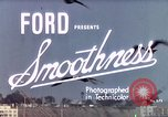Image of Advertisement for smooth ride of 1939 Ford automobiles United States USA, 1939, second 3 stock footage video 65675051551