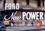 Image of Ford V8 automobile commercial advertisment 1939 United States USA, 1939, second 3 stock footage video 65675051554