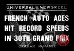 Image of Grand Prix Montlhery France, 1936, second 1 stock footage video 65675051557