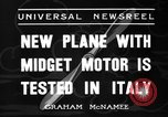 Image of Italian aircraft Rome Italy, 1936, second 5 stock footage video 65675051560
