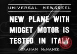 Image of Italian aircraft Rome Italy, 1936, second 9 stock footage video 65675051560