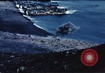 Image of famous American flag raising Mount Suribachi Iwo Jima, 1945, second 3 stock footage video 65675051573