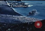 Image of famous American flag raising Mount Suribachi Iwo Jima, 1945, second 4 stock footage video 65675051573