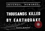 Image of Deadly earthquake strikes Chile Chile, 1939, second 1 stock footage video 65675051598