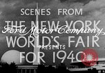 Image of New York World's fair New York City USA, 1940, second 5 stock footage video 65675051606