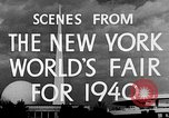 Image of New York World's fair New York City USA, 1940, second 7 stock footage video 65675051606