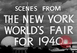 Image of New York World's fair New York City USA, 1940, second 8 stock footage video 65675051606