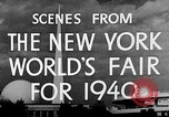 Image of New York World's fair New York City USA, 1940, second 9 stock footage video 65675051606