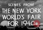 Image of New York World's fair New York City USA, 1940, second 10 stock footage video 65675051606