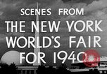 Image of New York World's fair New York City USA, 1940, second 11 stock footage video 65675051606