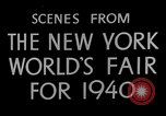 Image of New York World's fair New York City USA, 1940, second 12 stock footage video 65675051606