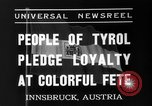 Image of Tyroleans Innsbruck Austria, 1937, second 6 stock footage video 65675051614