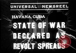 Image of Cuban soldiers Havana Cuba, 1935, second 1 stock footage video 65675051630