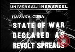 Image of Cuban soldiers Havana Cuba, 1935, second 3 stock footage video 65675051630