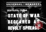 Image of Cuban soldiers Havana Cuba, 1935, second 6 stock footage video 65675051630